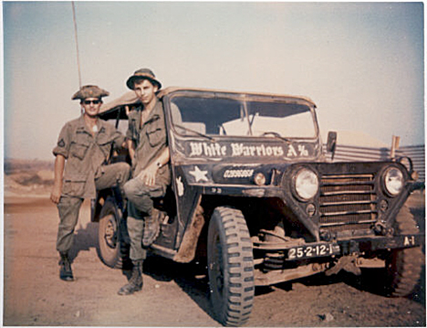 Photo of A-2-12 Company Jeep