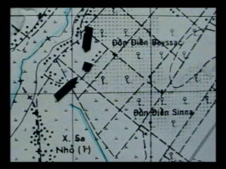 Detail of 4 Feb 69 battle site: