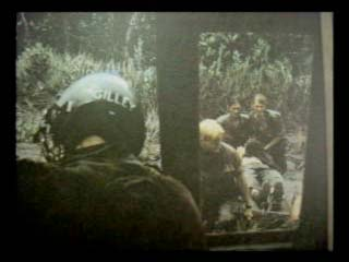 July 28, 1969. The 'point' platoon evacuates their wounded.